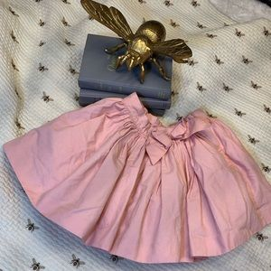 Janie and Jack pink layered skirt size 5